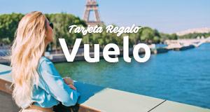 Tarjeta regalo | Vale regalo en viajes, vuelos y hoteles | Rumbo.es